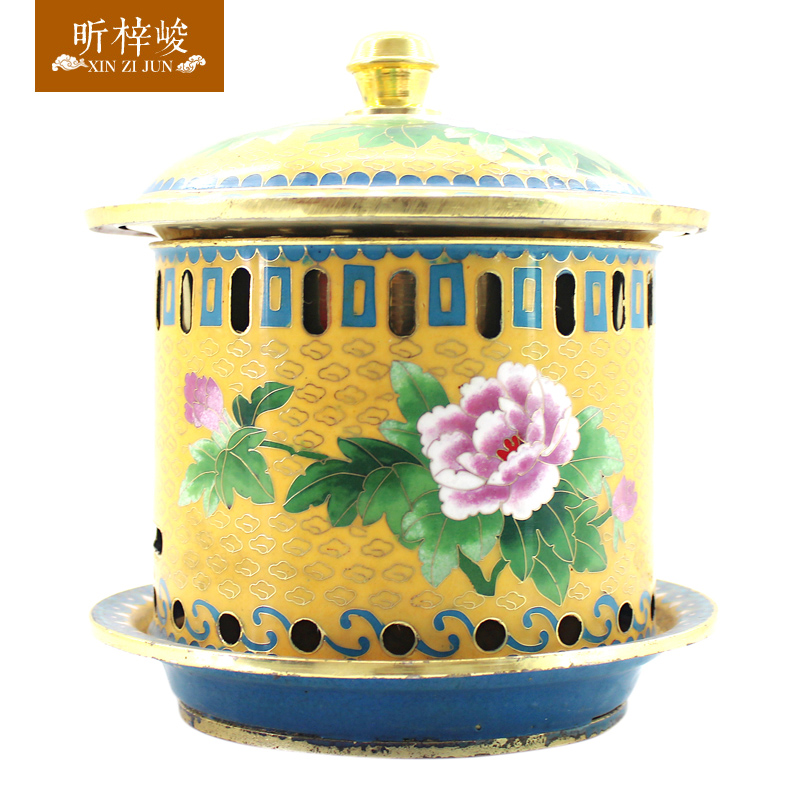 Xin zi finishing cloisonn alcohol small pot fashioned pure purple copper pot copper pot of old beijing shabu hot pot cooker pot dedicated