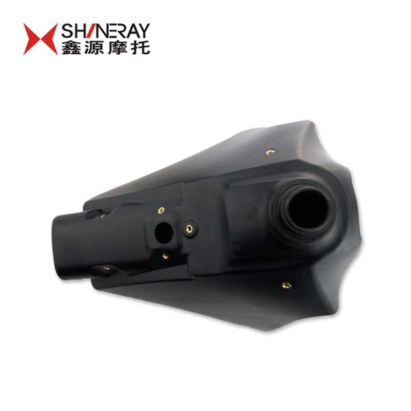 Xinyuan xinyuan x2 accessories shineray scrambed scrambed motorcycle accessories plastic fuel tank-black-modified pp material (8 L)
