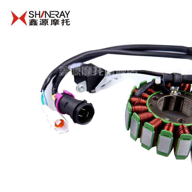 Xinyuan xinyuan x2 accessories shineray shineray scrambed 250 engine parts motorcycle magneto stator