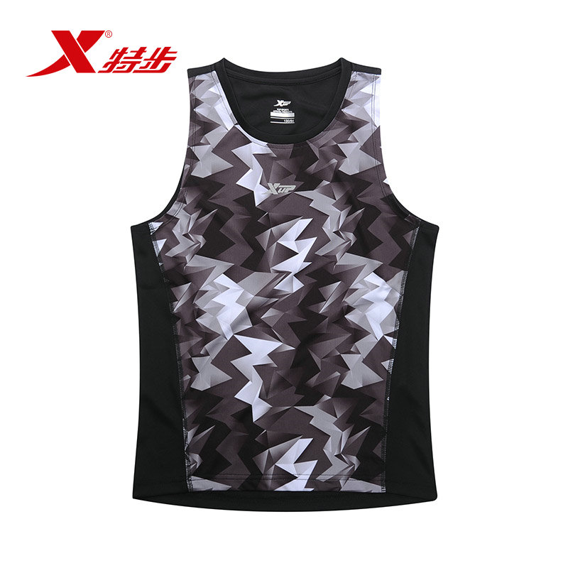 Xtep kids boys sports suit fashion sports basketball clothes short sleeve t-shirt shorts suit children's suits shipped move