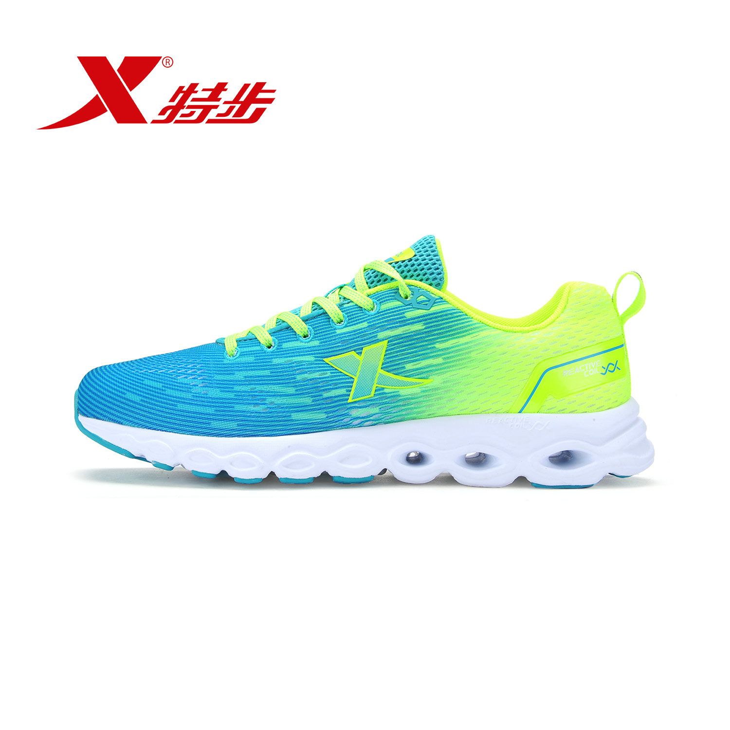 Xtep running shoes men's sports shoes 2016 summer new running shoes lightweight casual shoes 984219116076