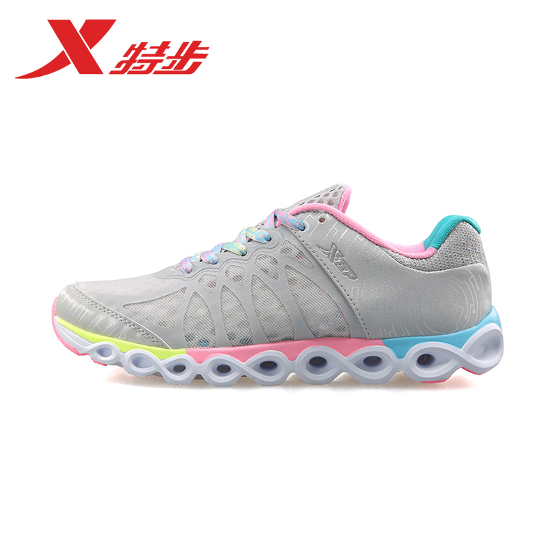 Xtep sports shoes women 2015 summer new running shoes women shoes summer lightweight breathable casual shoes sneakers high shoes