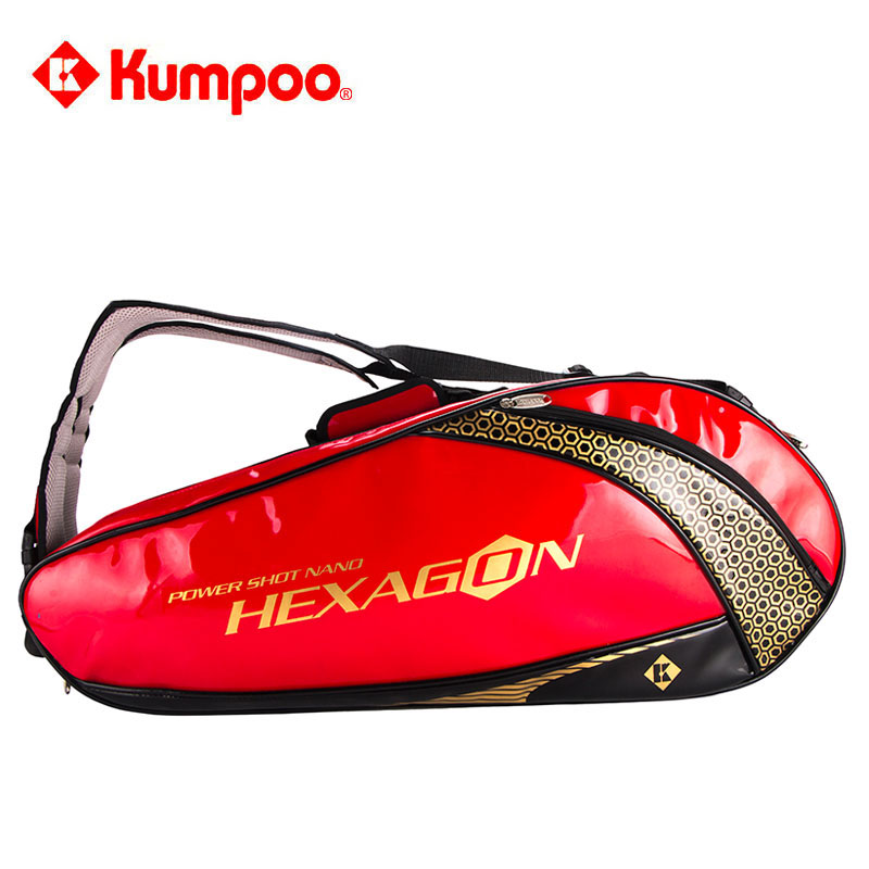 Xunfeng badminton bag backpack shoulder bag men and women 3 6 sticks badminton racket bag tennis racket bag KGS302