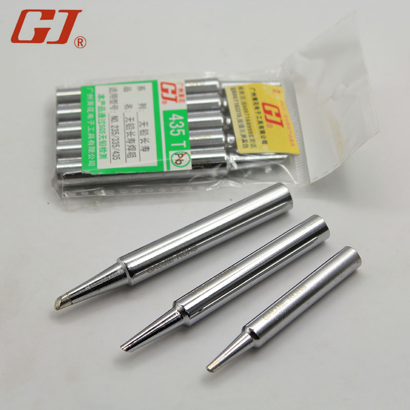Yellow (noble) NO.420 horseshoe head tip/435/450 t standfor yellow electric iron mouth applicable