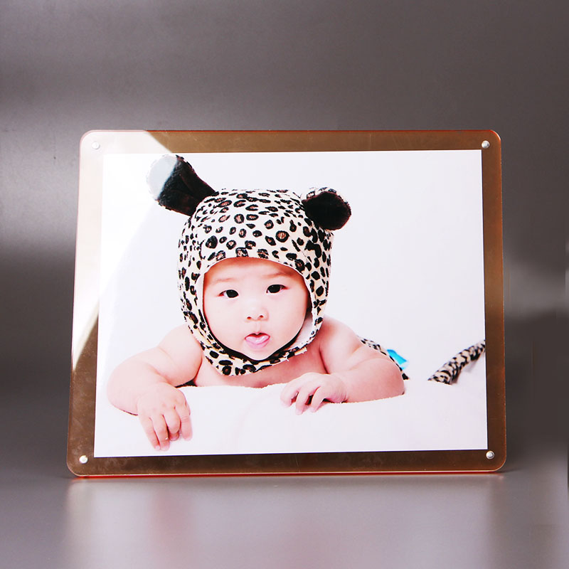 Yi good crystal acrylic photo frame creative photo frame swing sets 10 inch 6 7 8 european frame photo frame