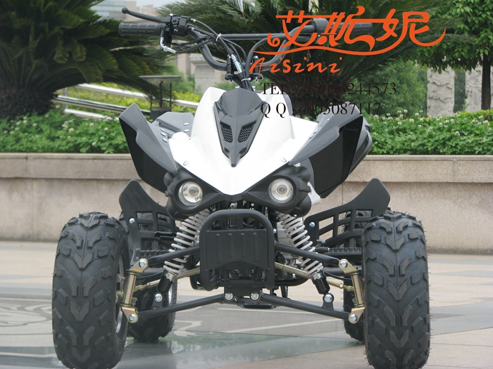 Yi sini 125 small mars atv atv four motocross 8 inch single exhaust four atv