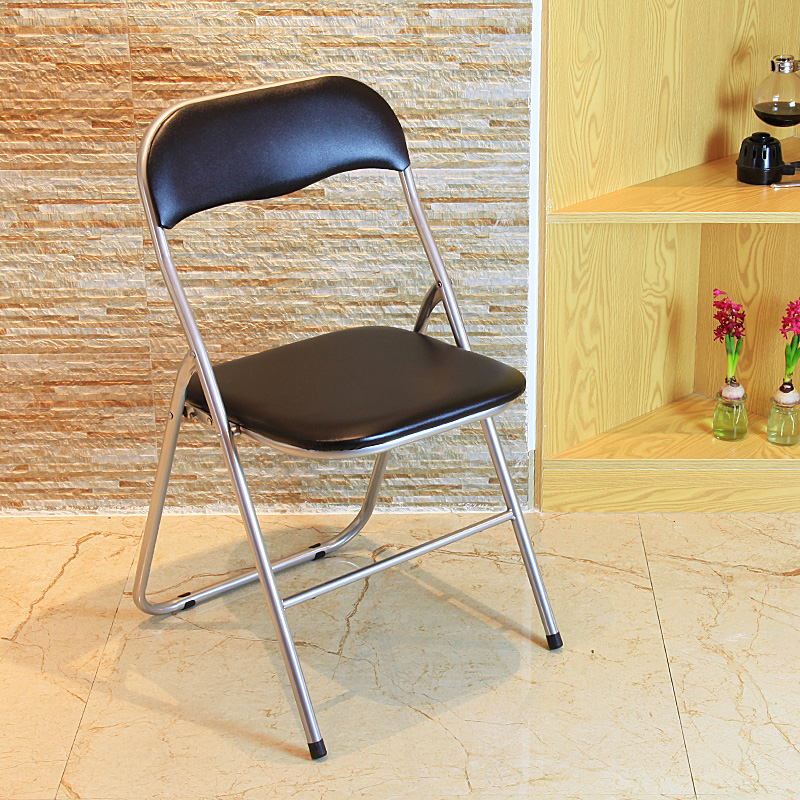 Yi tong backrest folding chairs computer chairs minimalist fashion casual training chair meeting chair home office chair