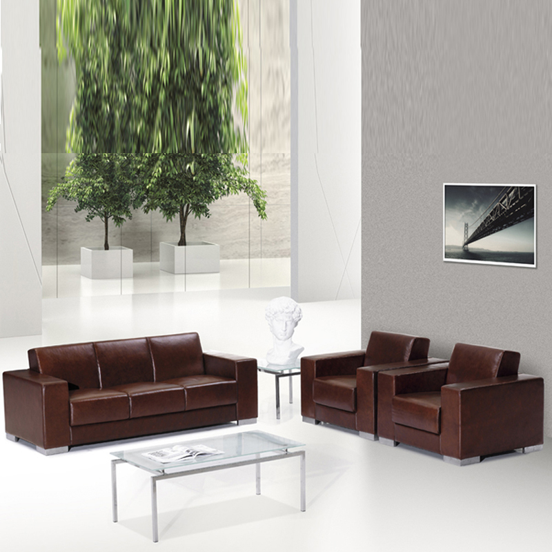 Yiåupscale business office reception parlor sofa office sofa modern minimalist sofa SF-053