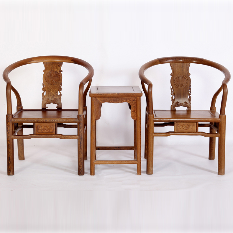 Yi yong xuan mahogany furniture wenge wood chair surrounded by three sets of ming and qing classical chinese wood chair chair chair coffee table combination