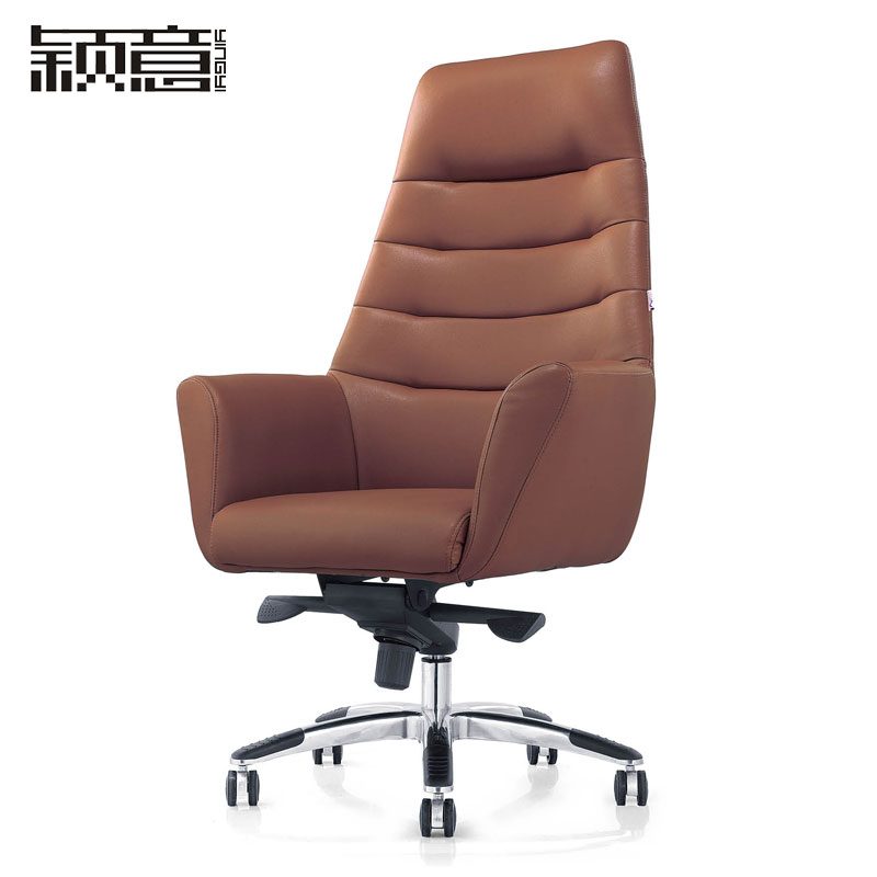 Ying italian office furniture modern fashion chair office chair swivel leather chair boss leather office chair manager chair