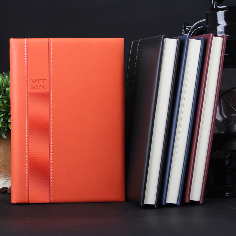 Ying li jia leather business office a5 notepad creative stationery notebook diary book can be customized logo