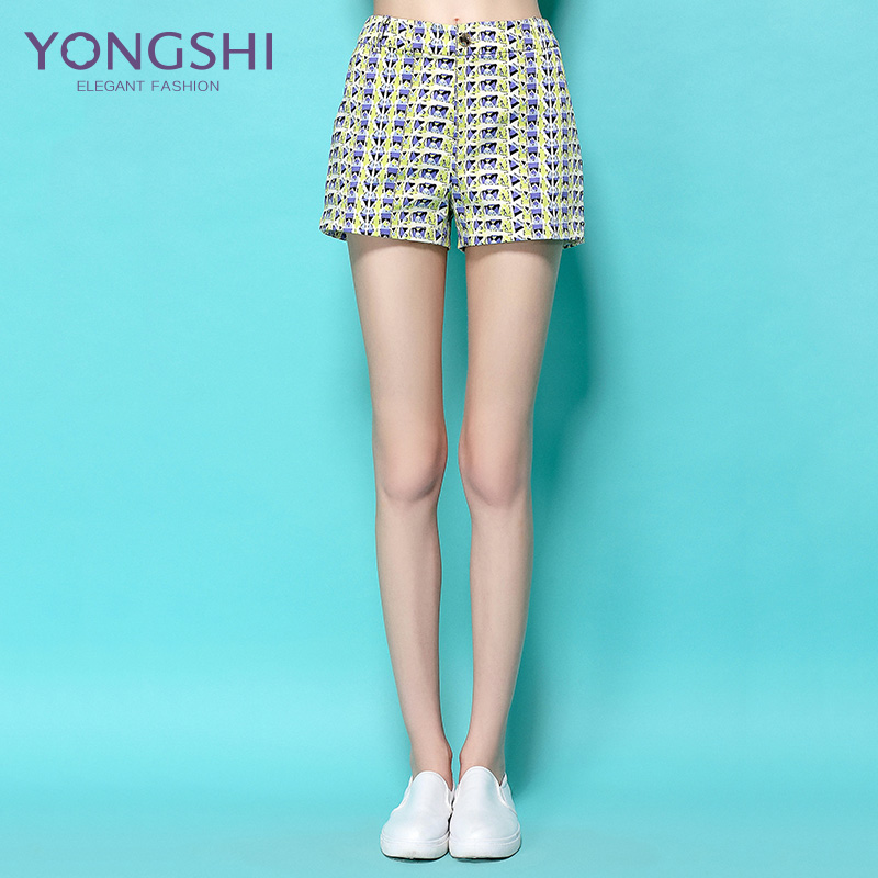 Yong shi 2016 summer new wide leg high waist shorts female summer shorts female korean loose thin wild shorts shorts big yards wide