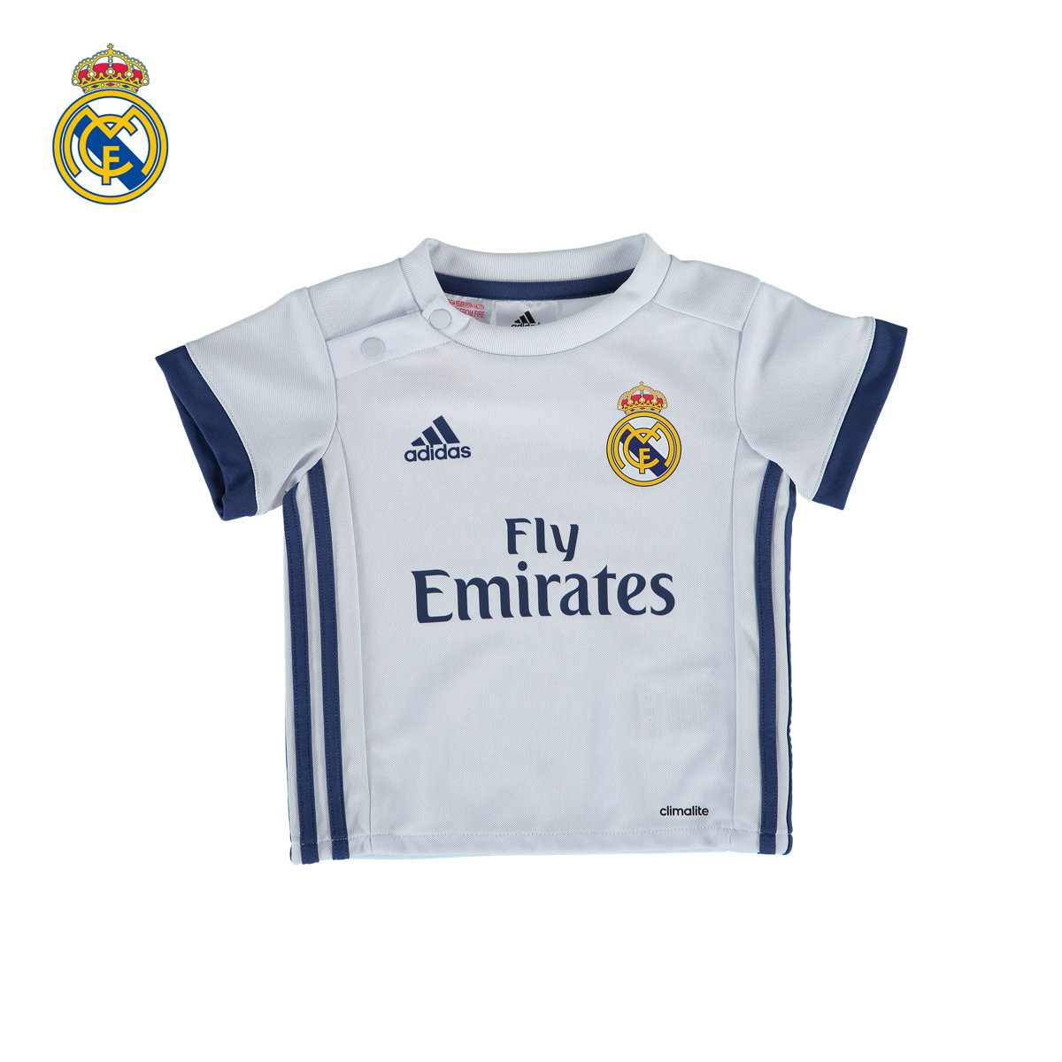 Get Quotations ·  Youth  real madrid real madrid 16 17 season home jersey  short sleeve jersey 1354f4241