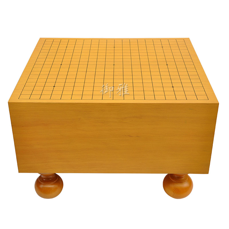 Yu ya new torreya wood chess chess chess pier linedraw lines veneer wooden chessboard with foot wood hyacinth