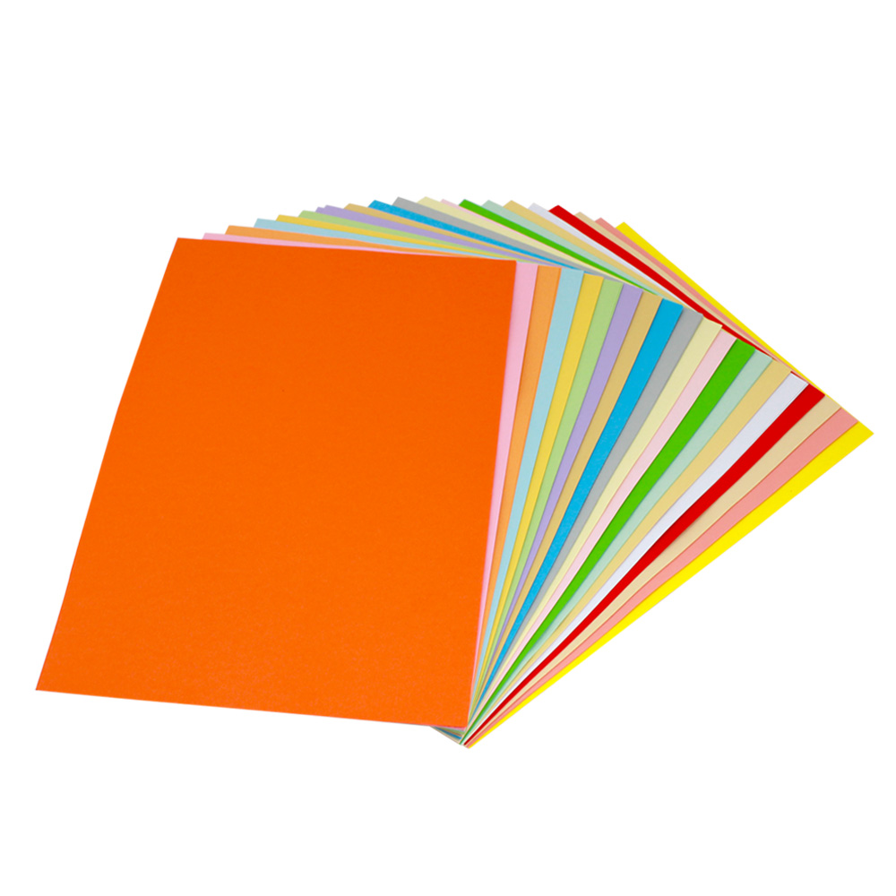 Yuan hao import color cardboard a4 paper 180g art paper cover paper jams thick art paper 20/pack