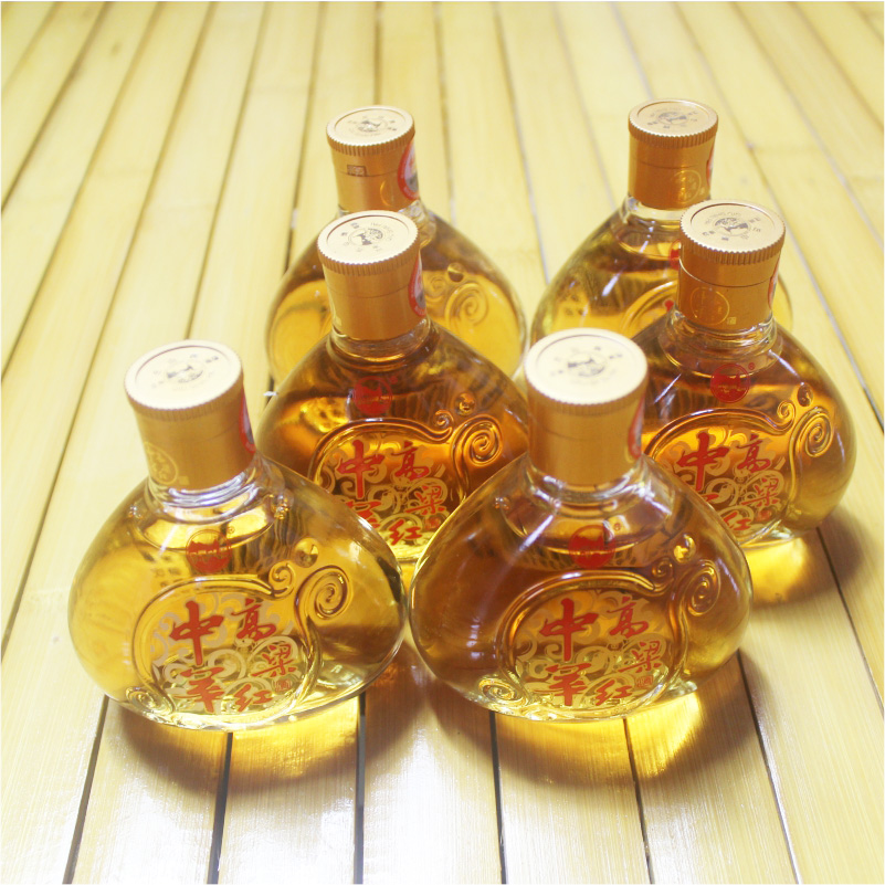 Yuechi sorghums chinese red new special song 100 ml * 6 low domestic patent amber grain spirit