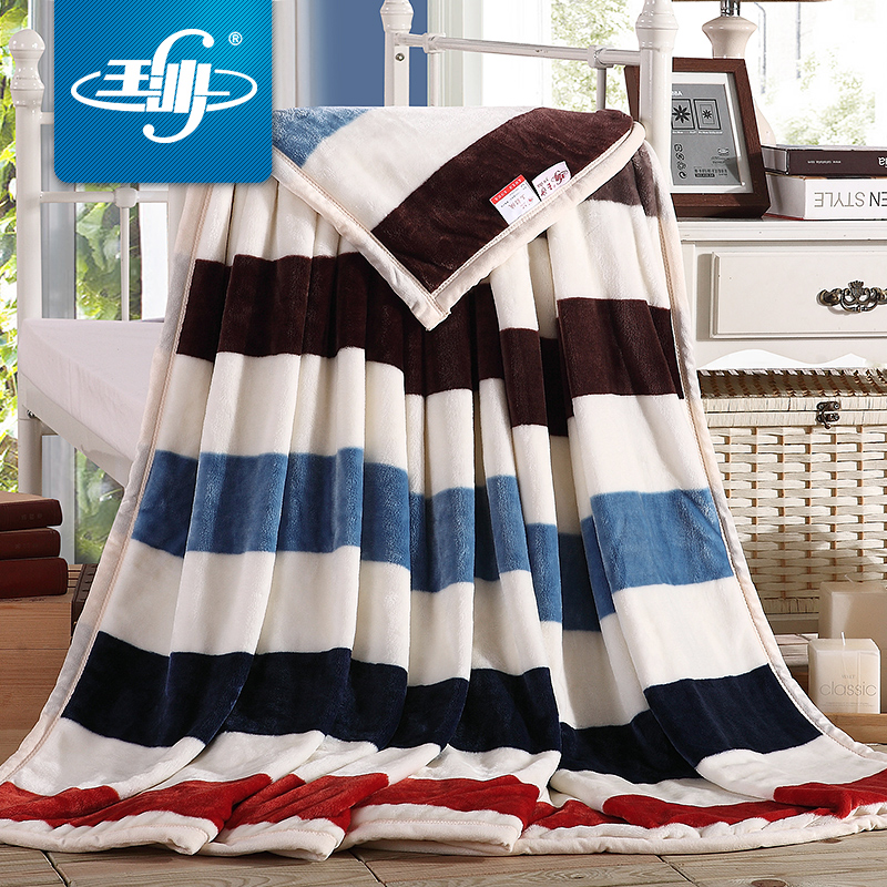 Yusha blanket double thick winter flannel blanket coral fleece blanket blankets sheets single double single law levin carpet