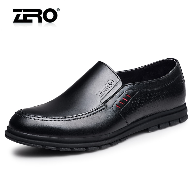 Zero zero 2016 new spring fashion casual shoes leather shoes casual shoes men set foot leather shoes