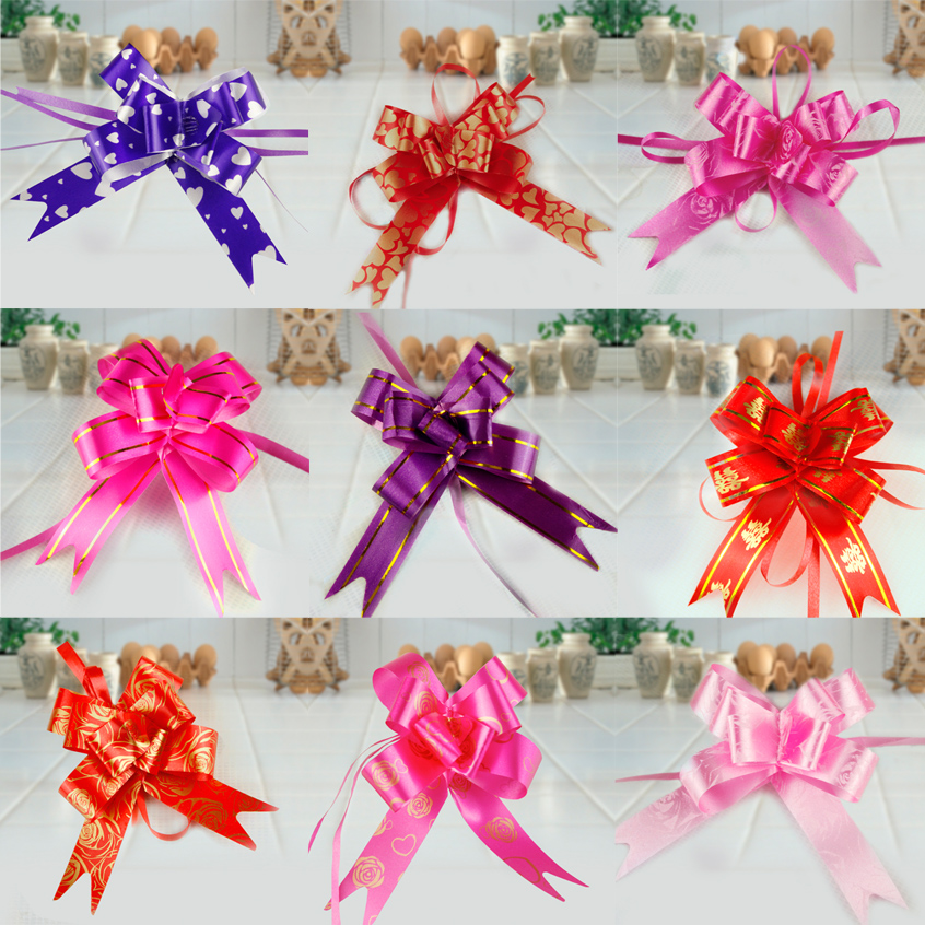 Zhe xi shun wedding decoration supplies garland candy box packaging nrk wedding car arrangement/gift wrapping ribbons