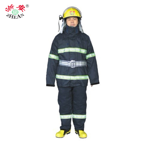 Zhejiang ann fire retardant clothing fire fighting service 02 style summer thin section 2002 type firefighters battle suit