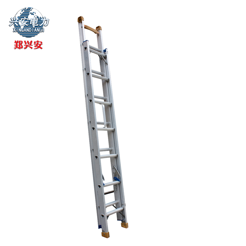 Zheng xing thick aluminum telescopic ladder 5 m even two type sided ladder climb the ladder engineering ladder household ladders