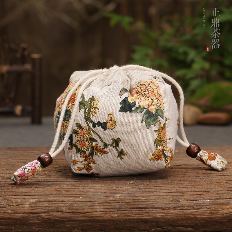 Zhengding new gold quartet bucket bag thick cotton special offer free shipping kung fu tea tea accessories