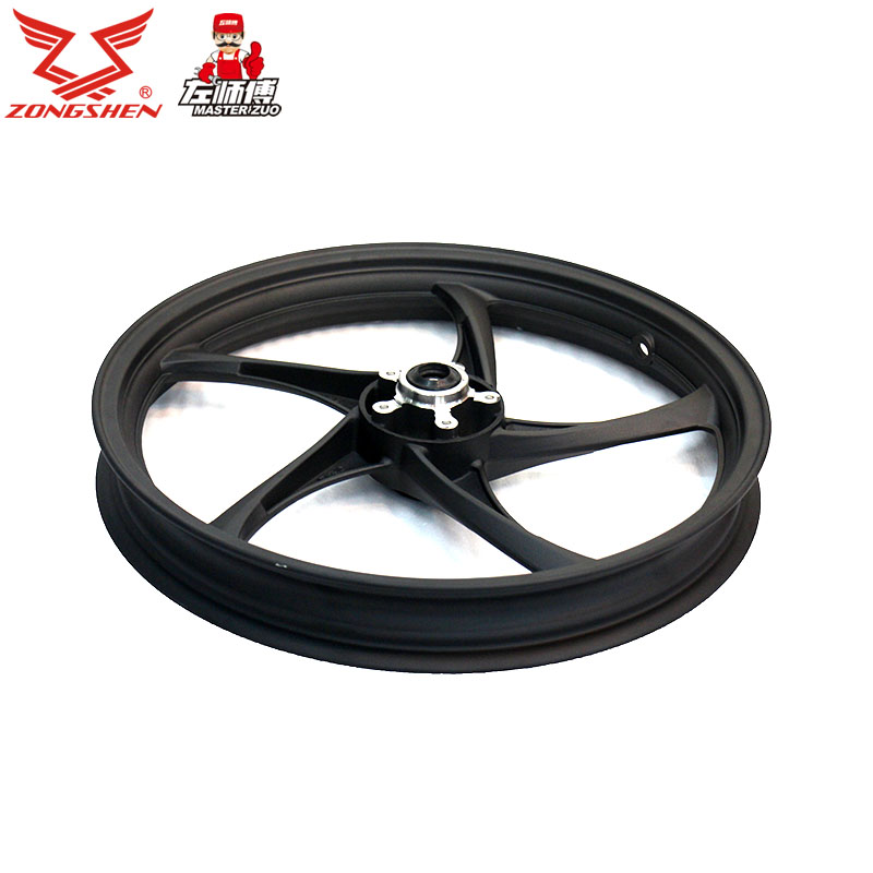 Zongshen zongshen motorcycle parts zs150-38c the shadow aluminum front wheel front wheel disc brakes