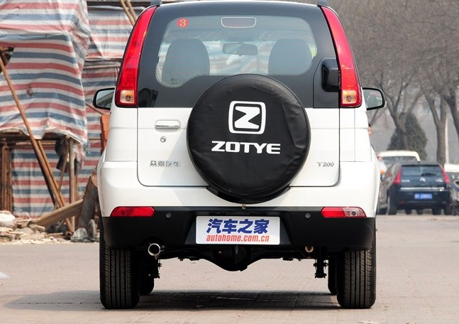 Zotye 5008 t200 zotye 2008 spare tire cover tire cover e cross country race thicker version upgrade shipping