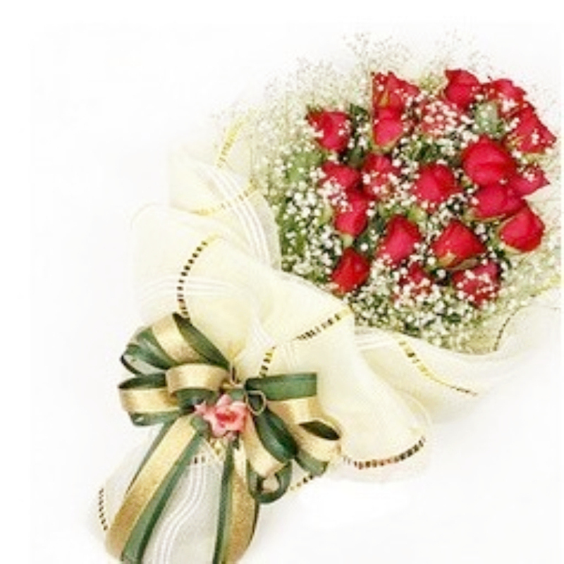Zunhua sanmenxia nanyang city flower delivery flower shop flowers birthday flower delivery flower shop 19 red roses