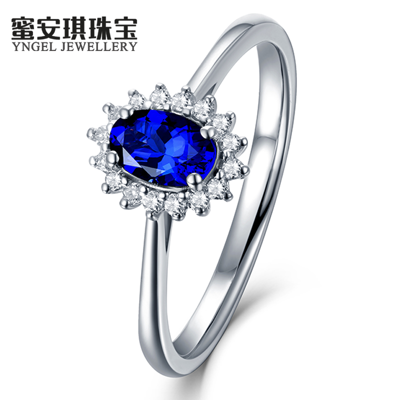 0.50 ~ 3.33 karat kt natural sapphire ring royal honey angel jewelry k gold multicolored