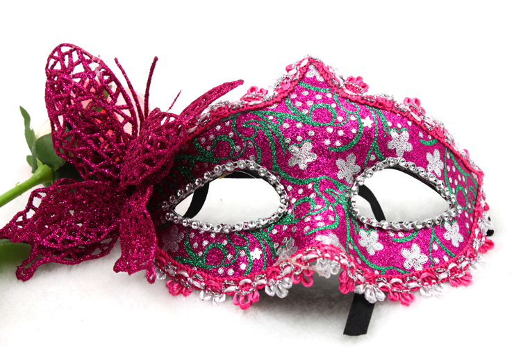 0373 chong cheng electronics exquisite italian christmas halloween mask masquerade mask decoration