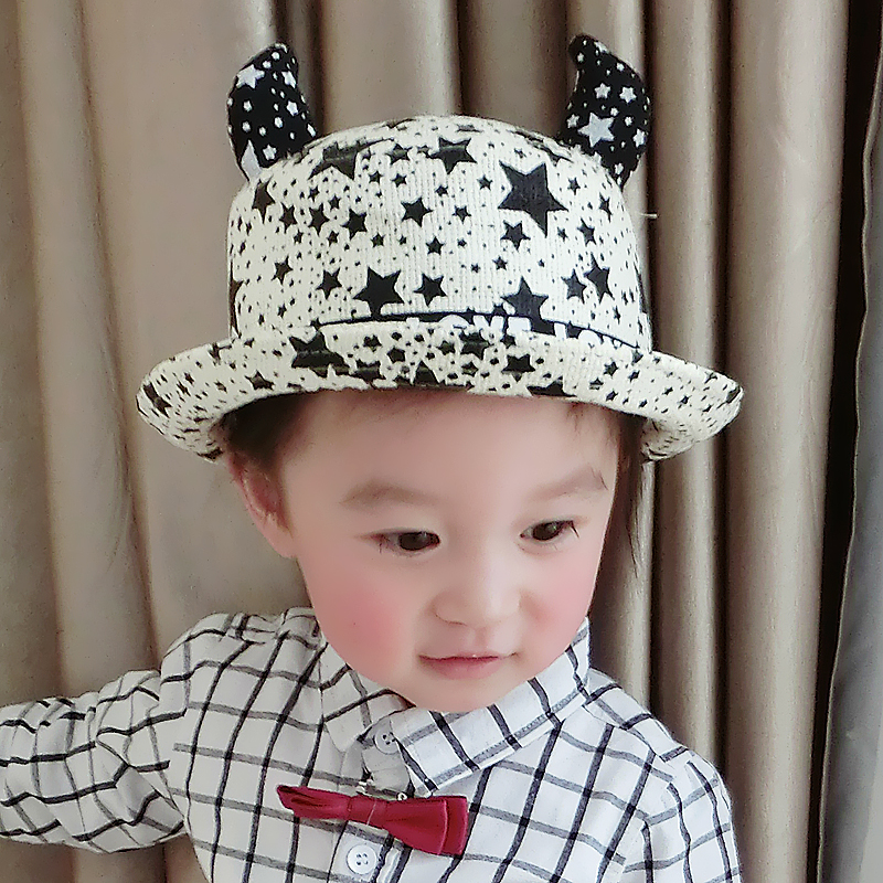 1-2-year-old months baby hat baby hat children hat spring and summer sun hat straw hat