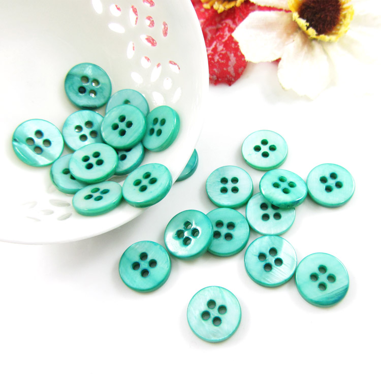 [Star accessories] natural shell buttons four buttons buttoned clothing accessories small buttons buttoned shirt buttons