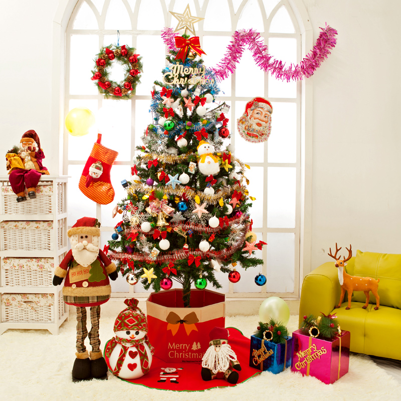 get quotations creepy square christmas tree package christmas package christmas tree decorations 180 cm - Creepy Christmas Decorations