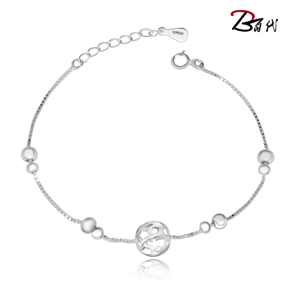 Emi beautiful milinglong star bracelet jewelry korean version of the s925 silver jewelry silver jewelry lovers to send a friend a gift free shipping