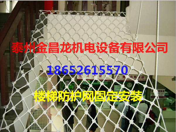 Nylon rope/fall protection network/fence/safety net/fence/2.5*2.5 container wagons 3MM Rough