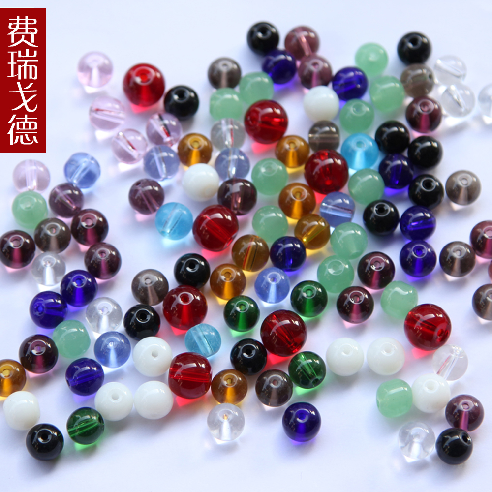 Feiruigede 6MM multicolor crystal bead curtain curtain curtain crystal bead curtain curtain off loose beads beaded catty