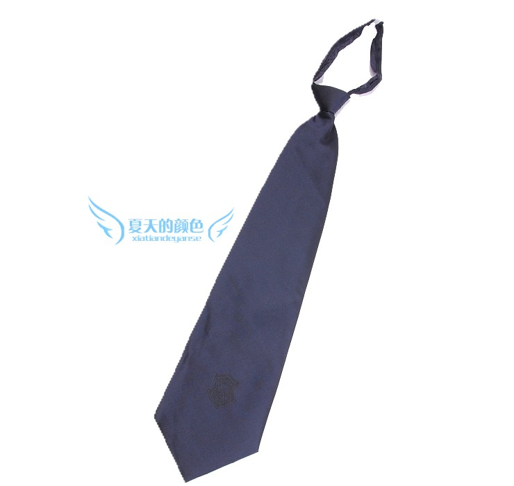 In the summer of the color of the security tie slip zipper tie job security uniforms accessories new tie