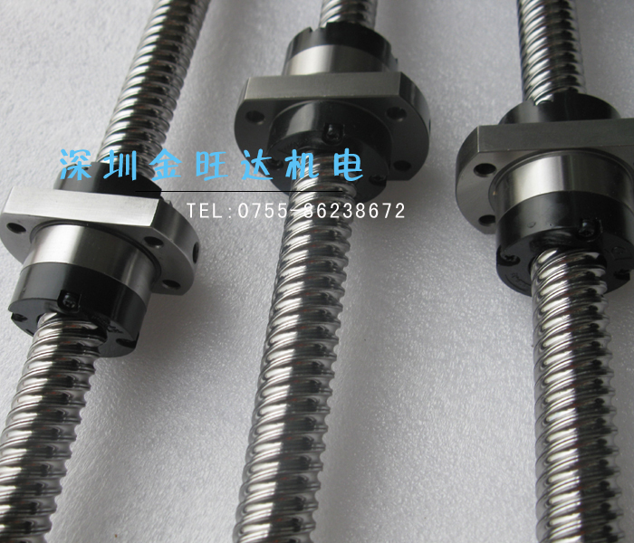 Large lead SFE2525 high speed ball bearing screw tbi ball screw screw nut containing c7 level rolling