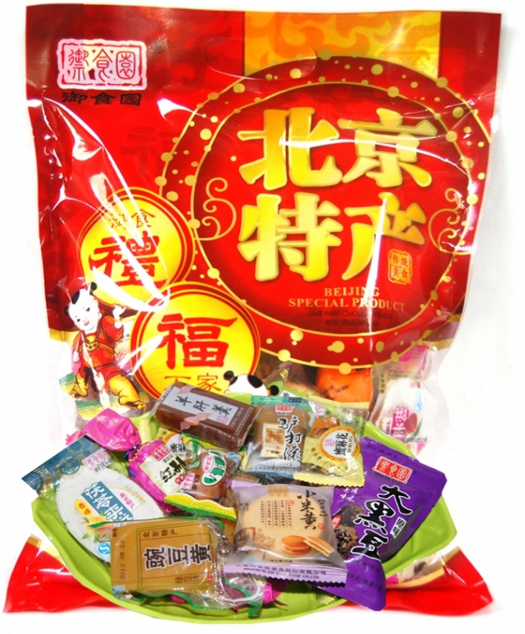 Beijing royal garden fresh specialty spree 800g casual snack new year gift