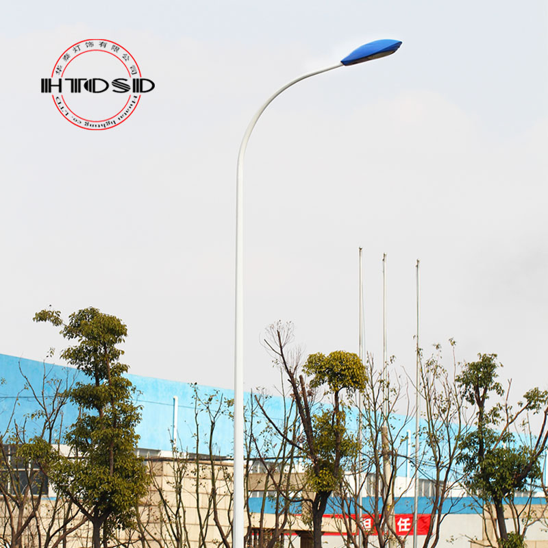 Outdoor single head street/road light/outdoor light/pole/street lamp factory lights led lights/garden lights