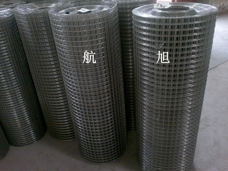 Galvanized welded wire mesh, cold galvanized welded mesh, hole 1 inch wire diameter 1.5mm, Hot dip galvanized welded wire mesh factory