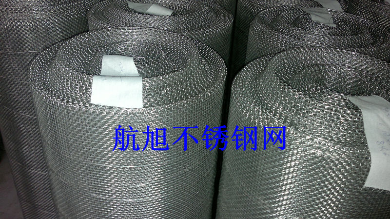 Band 304 stainless steel crimped wire mesh, steel mesh aperture 5.35mm, 304 steel wire mesh wire diameter 1mm