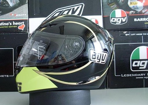 Authentic italian brand k-3 series helmet full helmet agv k3 helmet motorcycle helmet goethe black helmet run