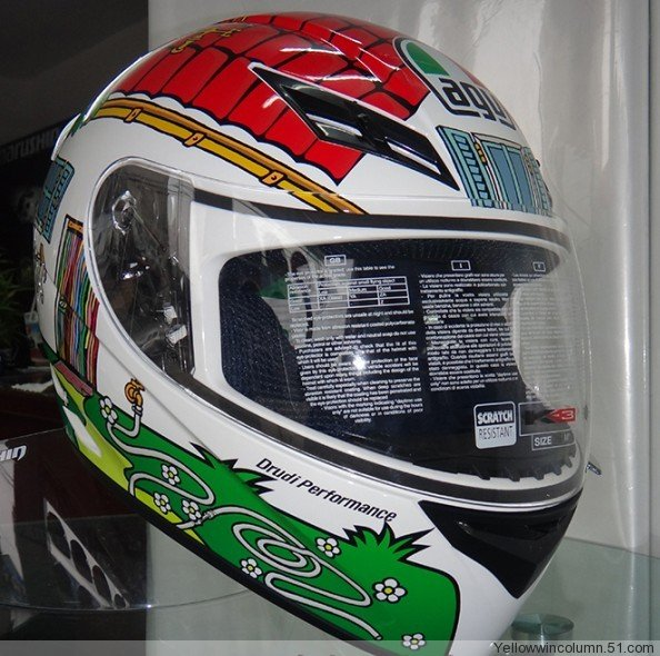Authentic italian brand motorcycle helmets agv k3 k-3 series ran helmet helmet full house