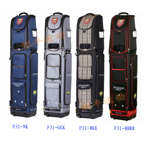 Mei sheng meashine authentic golf aviation package multifunction car travel bag golf bag