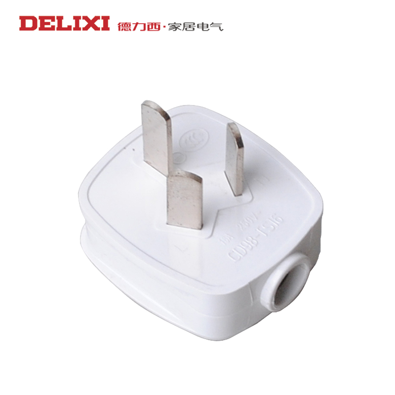 West germany conditioning plug power plug three holes 16a electric water heater wire/triangle/3 pin plug 220 v