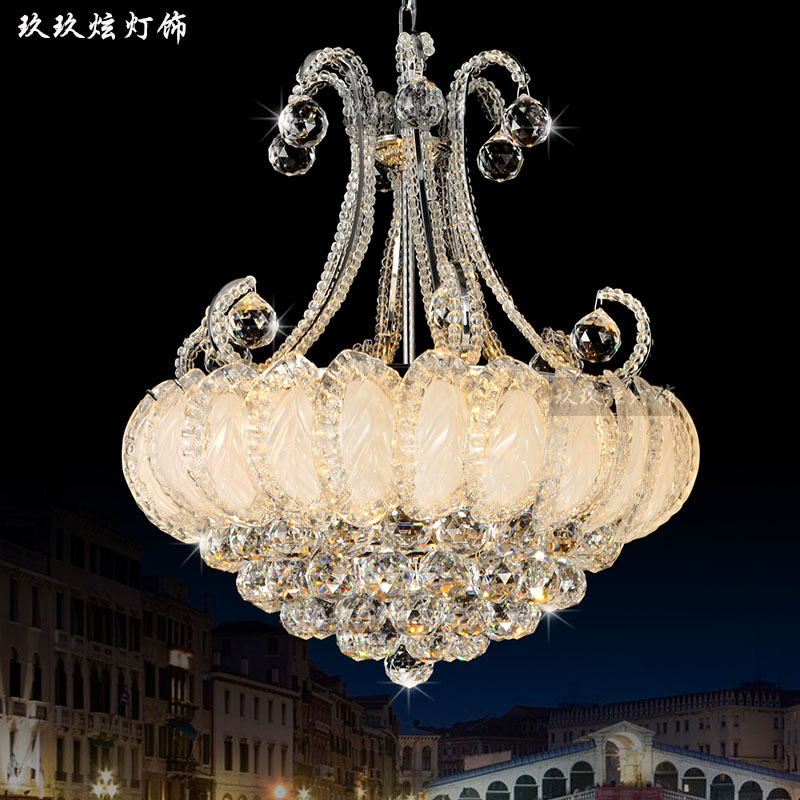 玖玖炫lighting crystal chandelier lamp living room minimalist modern chinese restaurant lamp bedroom lamp hall lighting