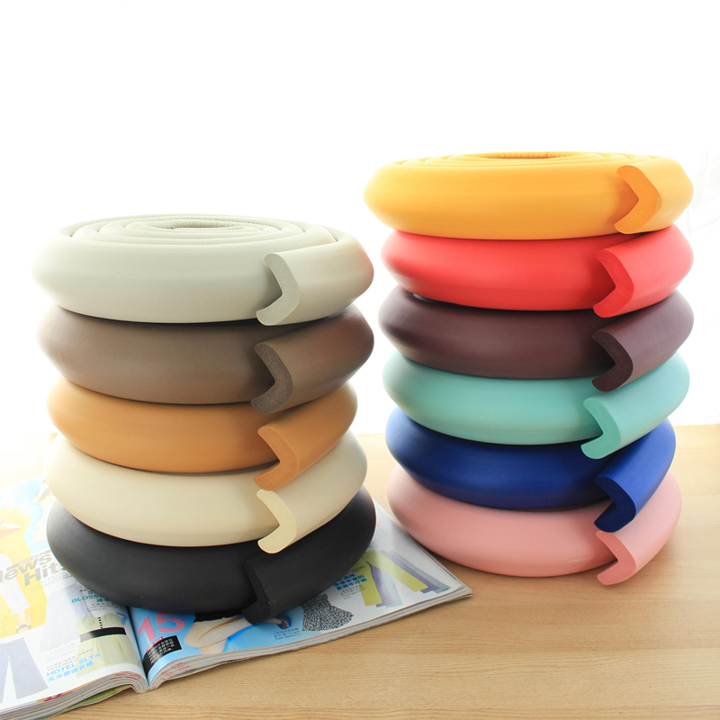 Wonderful heart baby free shipping baby infant safety bumper strip bumper strip thick protective strip anti care supplies 2 m 4 50ç±³tape