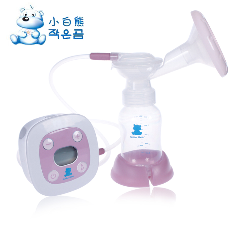 Small polar bear electric breast pump breast pump pregnant postpartum breast pump breast pump hl-0682 automatic massage breast pump suction large